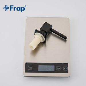 Image 5 - Sıkı bağlamak Kare sabunluklar Mutfak Güverte Monte Pompa için sabunluklar Mutfak Sayacı Üst Dağıtıcı Inşa Siyah Y35030/ 1