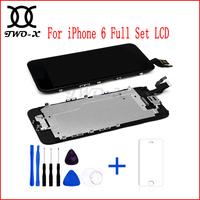 LCD Display For Iphone 6 Full Assembly Touch Screen Digitizer Grade A Quality With Front Camera
