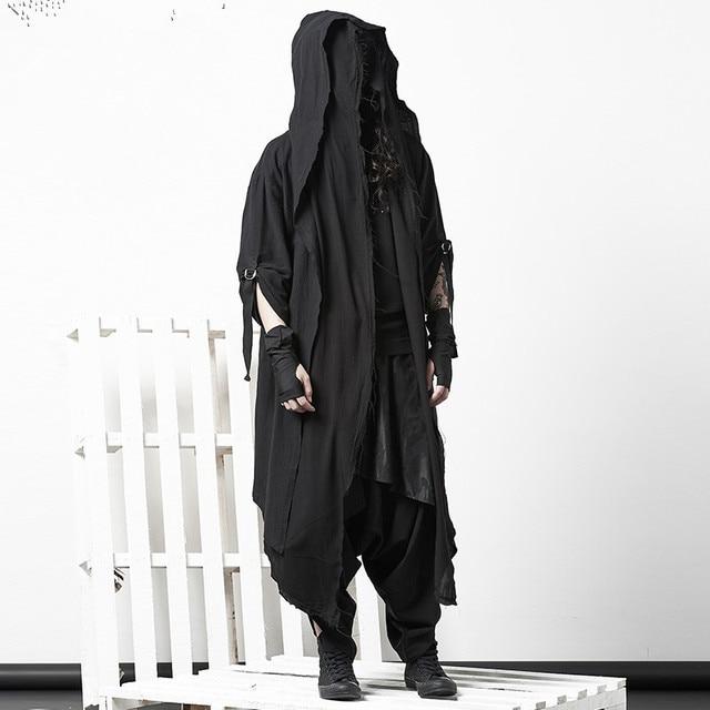 Dark Cloak Coat Personality...