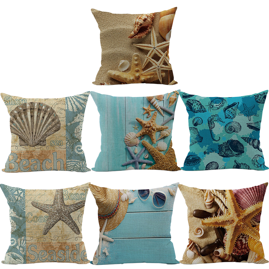 compare prices on scandinavian sofa online shopping buy low price rubihome wholesale 7pieces lot beach passionate decorative cushion cover throw pillowcase home decor