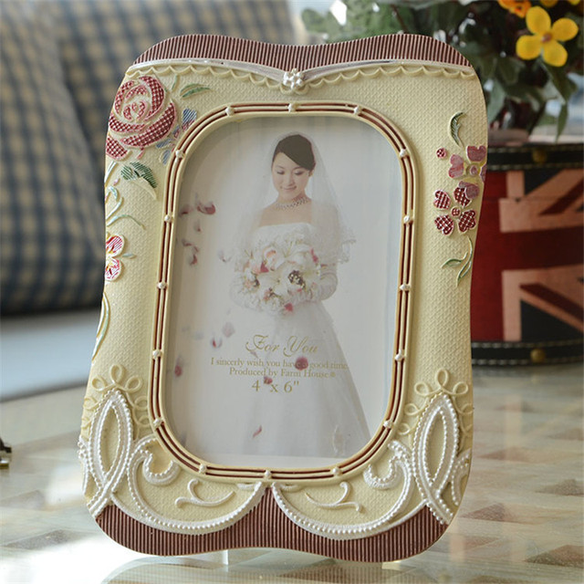 European classic palace style photo frame creative resin photo frame european classic palace style photo frame creative resin photo frame fashion picture frames home wedding decoration junglespirit Choice Image