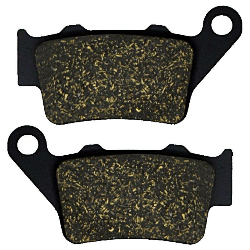 For HUSQVARNA XC-W 250 10 XCF-W 250 10 TE 300 2T 11 WR 300 09-12 TE 350 95-97 WR 360 95-02 SM400 R 02 Motorcycle Brake Pads Rear