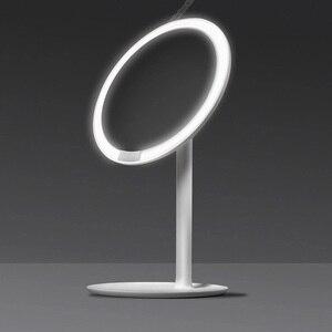 Image 2 - Amiro hd espelho regulável bancada ajustável 60 graus de rotação 2000 mah luz do dia maquiagem cosméticos led espelho lâmpada