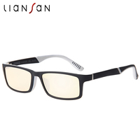 LianSan Vintage TR Anti Blue Ray Reading Glasses Women Men Retro Luxury Brand Designer Hyperopia Plastic Eyewear L8730