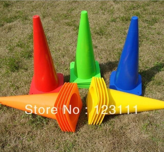 48cm Soccer Football Cross Dog Training Cones Track Sport Field Marking Cones Speed basketball,baseball,skating,skateboard,BMX