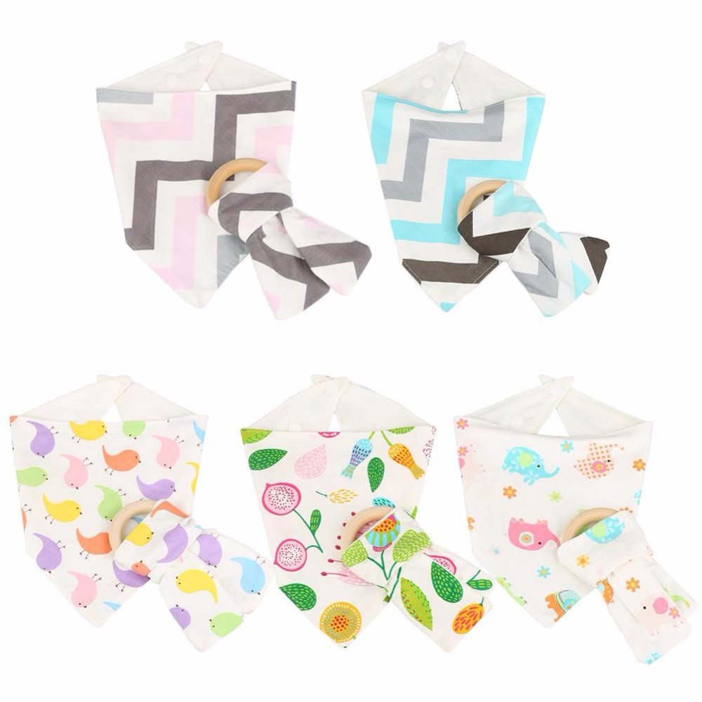 Baby Bibs For Drooling Teething and Feeding Print Comfortable Cotton Bamboo Fiber Newborn Fashion Baby Bibs Newborn Infant Gifts