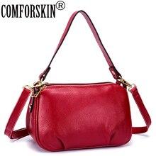 COMFORSKIN Bolsas Feminina Messenger Bag Guaranteed Genuine Women Leather Handbags Large Capacity Travelling Shoulder Bags 2019