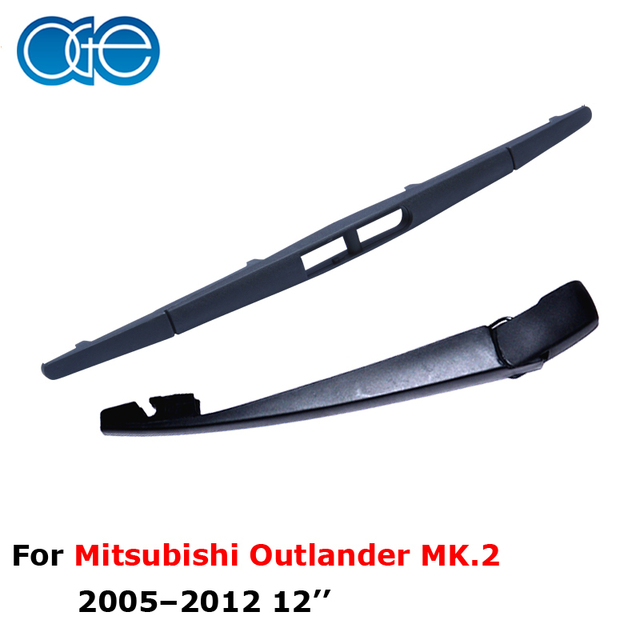 "Oge lâminas do limpador lâmina braço limpador traseiro para mitsubishi outlander carro mk.2, 12 ""30 cm, portas suv, borracha, acessórios para carros, rmt14-2a"