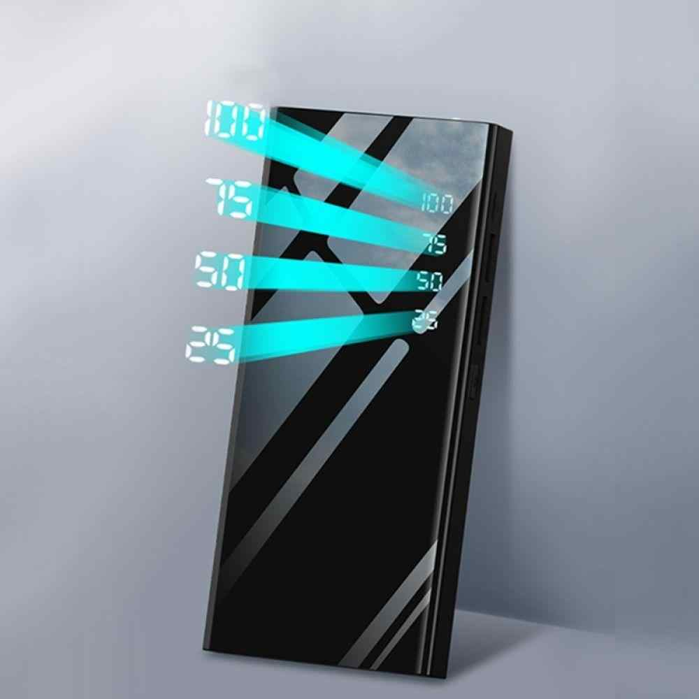 حار 30000mah مي رور قوة البنك بطارية خارجية حزمة LCD المحمولة الهاتف المحمول شاحن باوربانك ل Xiao mi mi آيفون X نوت 8