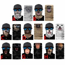 3D Cycling Balaclava Magic Cute Animal Scarf Neck Warmer Face Mask Head Bandana Shield Headband Headwear Men Bicycle