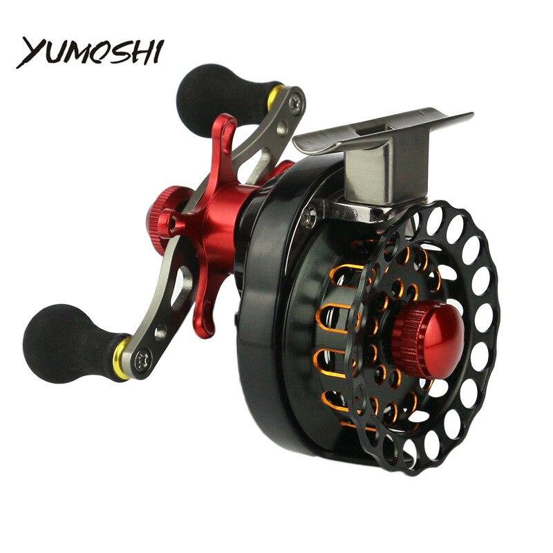 roda jangada pesca com mosca carretel esquerda direita 4 1bb 3 5 1 carretel de pesca