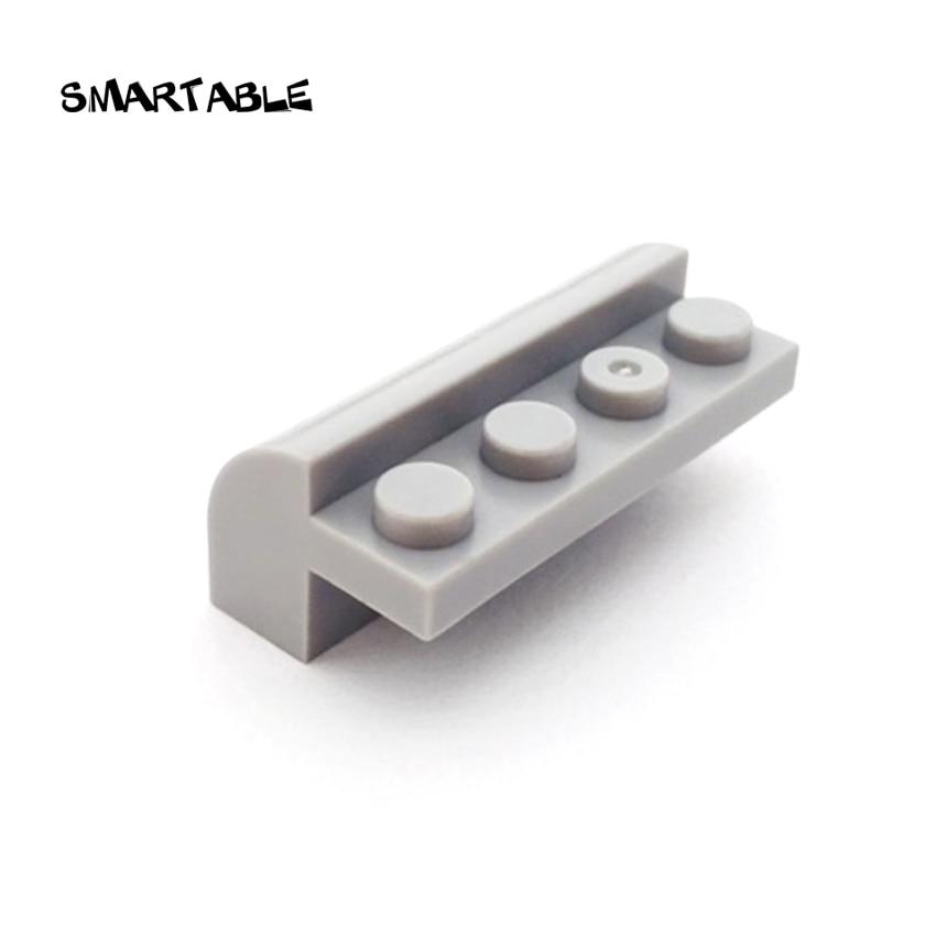 Smartable Slope Curved 2x4x1 1/3 Building Blocks MOC Parts DIY Learning Toys Compatible Major Brands City Technic 6081 20pcs/lot
