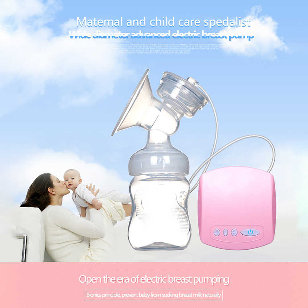 CISINCOS 2019 Интеллектуальный автоматический Электрический молокоотсос всасывающий молочный насос для кормления грудью USB Электрический молокоотсос