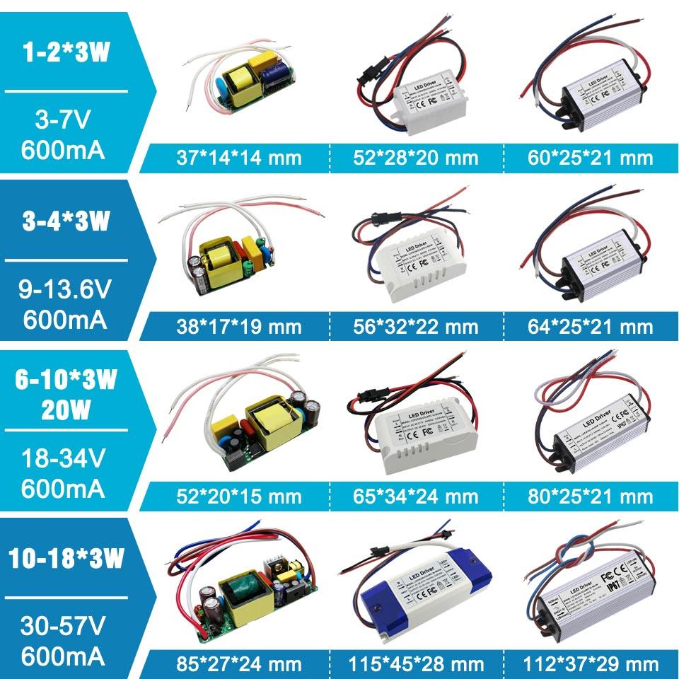 Transformadores de iluminação
