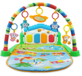 Minitudou Newborn Baby Multifunction Piano Fitness Rack With Music Rattle Infant Activity Play Mat Children Educational Toys