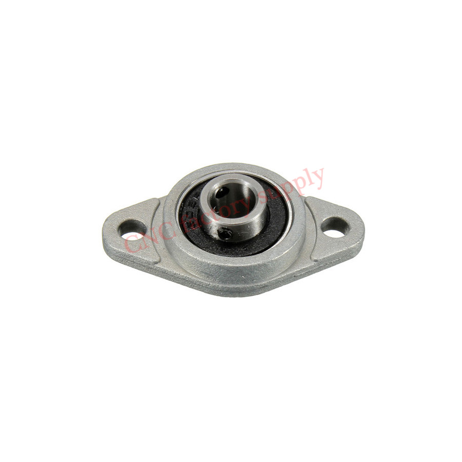 4pcs Zinc Alloy Diameter 8mm Bore Ball rhombic insert Bearing Pillow Block Mounted Support Caliber K