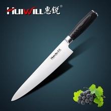 """HUIWILL Marke Super Qualität 10 """"edelstahl Küche Profi-koch Messer Japanischen Messer Gemüse Fleischmesser"""