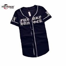 baseball Hip shirts Streetwear