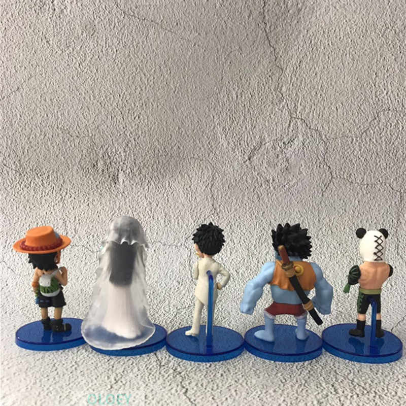 ONE PIECE  Pirates Female Emperor Monkey D. Luffy Nightmare marriage PVC Action Figure Collectible Model Toy 8-8.5Cm BOX X55
