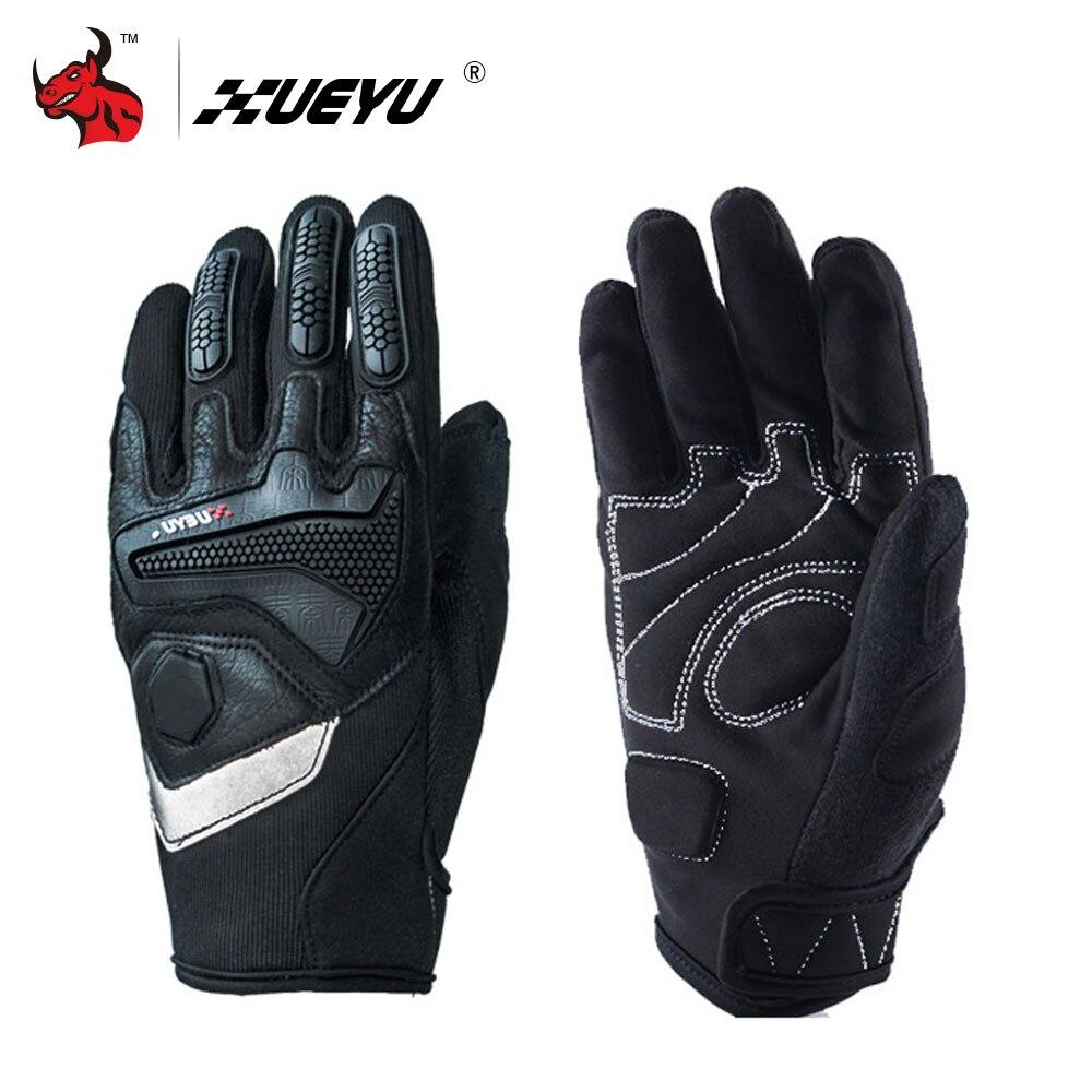 XUEYU Moto Guanti Pieni della Barretta Moto Strada Bike Corse di Motocross Luvas Enduro Road Moto Equitazione Guanti di Protezione Gear