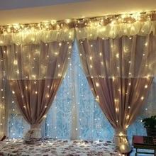 3Mx3M 300leds led  icicle  curtain string fairy light 300bulb Xmas Wedding home garden party Valentine's Day