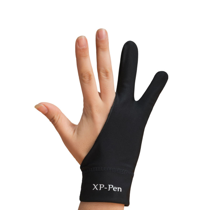 XP-Pen Anti-fouling Glove Kunstner til Tegning Tablet / Displayvlight Box / Tracing Light Pad til Tablet M Størrelse