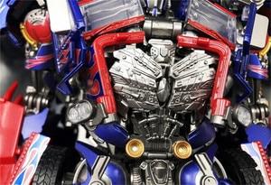 Image 3 - קומיקס מועדון INSTOCK BMB LS03F OP מפקד שינוי סרט MPM04 MPM 04 Oversize סגסוגת שרירים Diecast דמות רובוט צעצועים