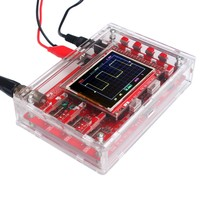 Fully Assembled DSO138 2.4 TFT Pocket size Digital Oscilloscope Kit DIY Parts Handheld + Acrylic DIY Case Cover Shell