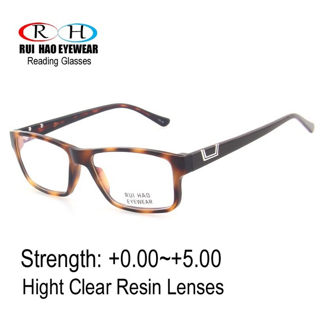 3d7f035fea Classic Reading Eyeglasses Reading Eyewear Clear Presbyopic Glasses Optical Spectacles  CR-39 Resin Lens HMC Coating Eyewear