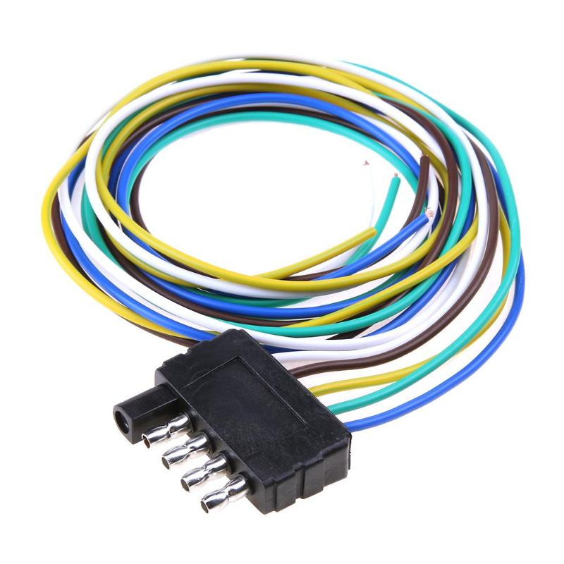 4-Pin Plug Trailer Light Wiring Harness Extension Flat Wire ... on 4 pin connectors, 4 pin computer, 4 pin motors, 4 pin plugs, 4 pin voltage, 4 pin fan, 4 pin fuse, 4 pin relays, 4 pin switch, 4 pin arduino, 4 pin cable, 4 pin alternator, 4 pin audio, 4 pin power, 4 pin lamps, 4 pin harness, 4 pin bracket, 4 pin ignition,