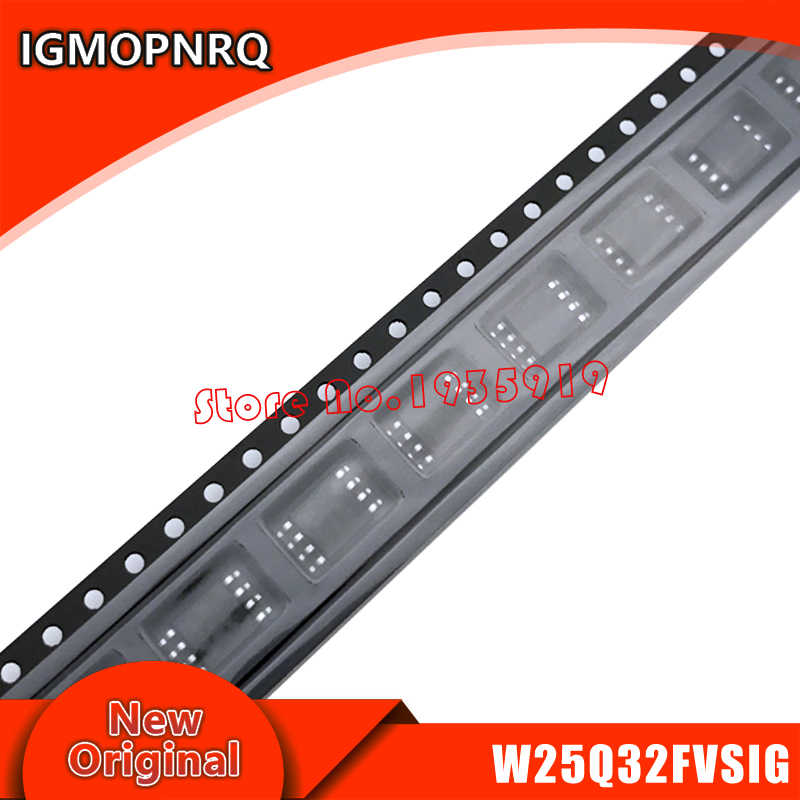 10 шт W25Q32FVSIG W25Q32FVSSIG 25Q32FVSIG W25Q32 лапками углублением SOP-8 новый оригинальный