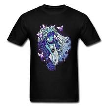 Zombie Bride T-shirt Men Tees 2018 Popular Tshirt Decaying Dreams Skull Print T Shirt Unique Male Clothes Cotton High Quality цена и фото