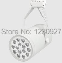 Factory sale 15W 85 265V led tracking lamp 2 years warranty clothing store supermarket jewelry led