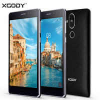 XGODY Y22มาร์ทโฟน6.0นิ้ว1กิกะไบต์RAM + 16กิกะไบต์รอมQuad Core Android 5.1คู่ซิมการ์ด8.0MP GPS WiFi WCDMA 3กรัมมือถือปลดล็อคโทรศั...