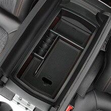 Caixa De Armazenamento Do Console Central Apto Para Peugeot 3008 5008 GT 2017-2020 Apoio de Braço De Armazenamento Bin de Armazenamento Porta Da Frente box Titular Container