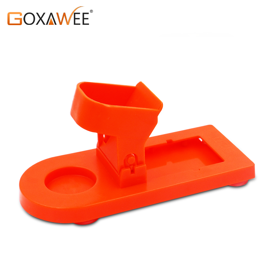 GOXAWEE Hot Melt Electric Heat Glue Gun Stand Base 20W/80W/105W For Home DIY Repair Glue Thermo Pistol Tool