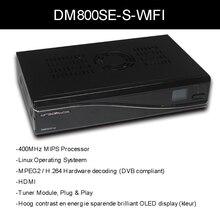 Reproductor multimedia dm800hd dm 800hd sim 2.10 Rev D11 versión wifi dm800se receptor de Satélite Sunray dm800 sí con 300 Mbps WIFI