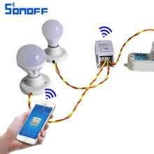 Sonoff Dual Wifi Inalámbrico de $ Number Canales Interruptor de Control Remoto Casa Inteligente, inteligente Interruptor de Temporizador de Control A Través de Android IOS APP