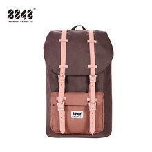 8848 Men's Casual Backpack Oxford Waterproof 15.6'' Notebook Backpack USB Charge Travel bag 2019 New Male Schoolbag 111-006-018(China)