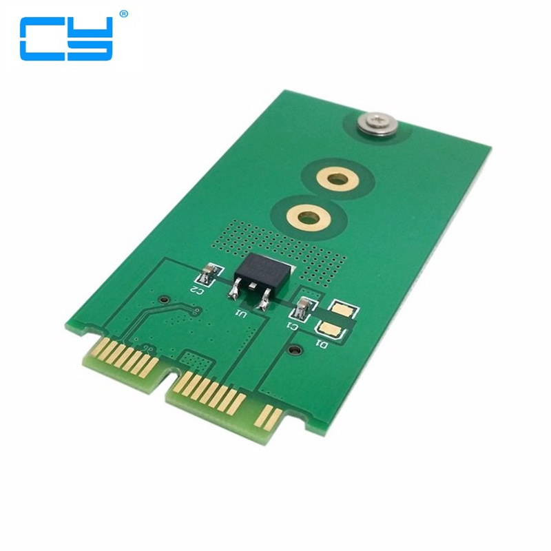 Mini PCI-E pcie 2 Lane M.2 NGFF SSD to 1.8 Micro SATA 7+9 16pin Adapter Add on Cards PCBA for for E431 E531 X240S Y410P Y510P factory price mosunx 2 in 1 mini pci e 2 lane m 2 and msata ssd to sata iii 7 15 pin adapter drop shipping drop shipping