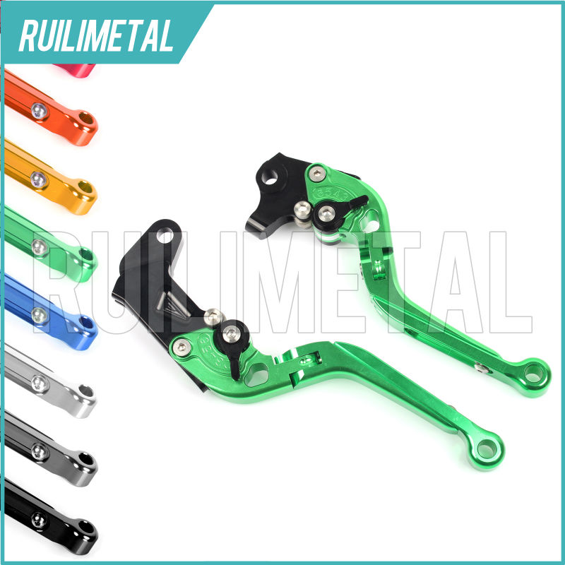 Adjustable Extendable Folding Clutch Brake Levers for DUCATI 1098 R S Tricolore 07 08 2007 2008 Monster 1100 S 09 10 11 12 13 billet adjustable long folding brake clutch levers for kawasaki z750 z 750 2007 2008 2009 2010 2011 07 11 z800 z 800 2013 2014