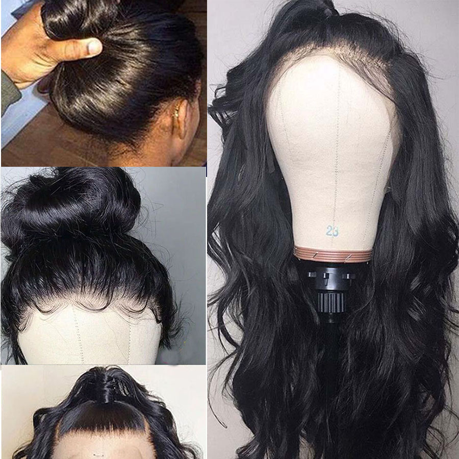 Body-Wave-Lace-Front-Wig-Malaysian-360-lace-Frontal-Wig-Pre-Plucked-With-Baby-Hair-Remy