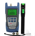 Handheld fiber Optical Power Meter+ 20mw Red light source pen  Fiber Optic Cable Tester Fiber Optic Laser Visual Fault Locator,