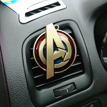 Cartoon Air Freshener Clip Car Styling Perfume For Air Condition Vent The SHIELD Dr. singular Captain America Superman Fans D1 dr 12 air condition capacitor 3uf 450v cbb611a