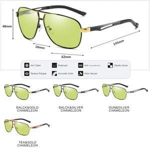 Image 5 - Day Night Intelligent Photochromic Polarized Sunglasses Men Sunglasses for Drivers Women Safety Driving UV400 Sun Glasses Oculos