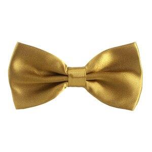 Image 5 - Moda Plain Poliéster Bow Tie Grade Gravatas Borboleta Bowtie Festa de Homens E Mulheres Em Geral, 1000 pcs