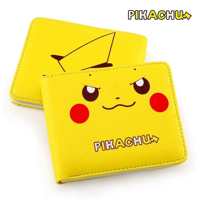 natsume-yuujinchou-cute-cat-pu-leather-wallet-cartoon-font-b-pokemon-b-font-pikachu-card-holder-wallet-students-short-purse