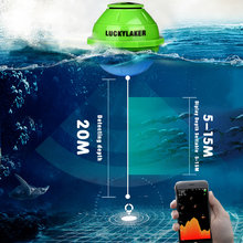 Lucky FF916 Wireless WIFI Sonar Fish Finder
