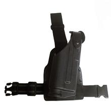 Tactical Glock Gun Holster Bearing Flashlight For Glock 17 19 22 23 31 32 Military Airsoft Pistol Leg Holster все цены