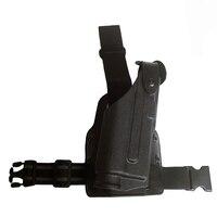 Tactical Glock Gun Holster Bearing Flashlight For Glock 17 19 22 23 31 32 Military Airsoft Pistol Leg Holster